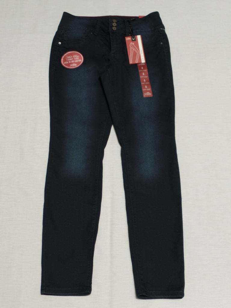 Royalty Slim Fit Skinny Jeans (Long) 69% Cotton, 30% Polyester, 1% Spandex: Sizes 6, 8