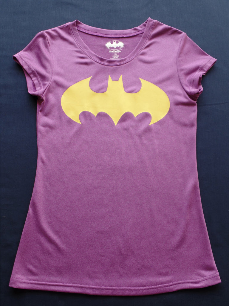 Ladies Batman 100% Polyester Shirt: Sizes M, L