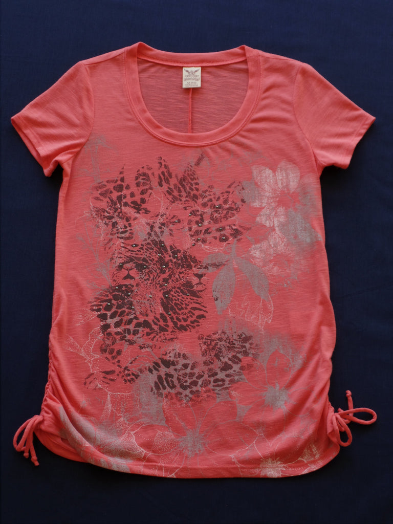 Fashion Graphic Tops - 100% Polyester: Size XS 0-2