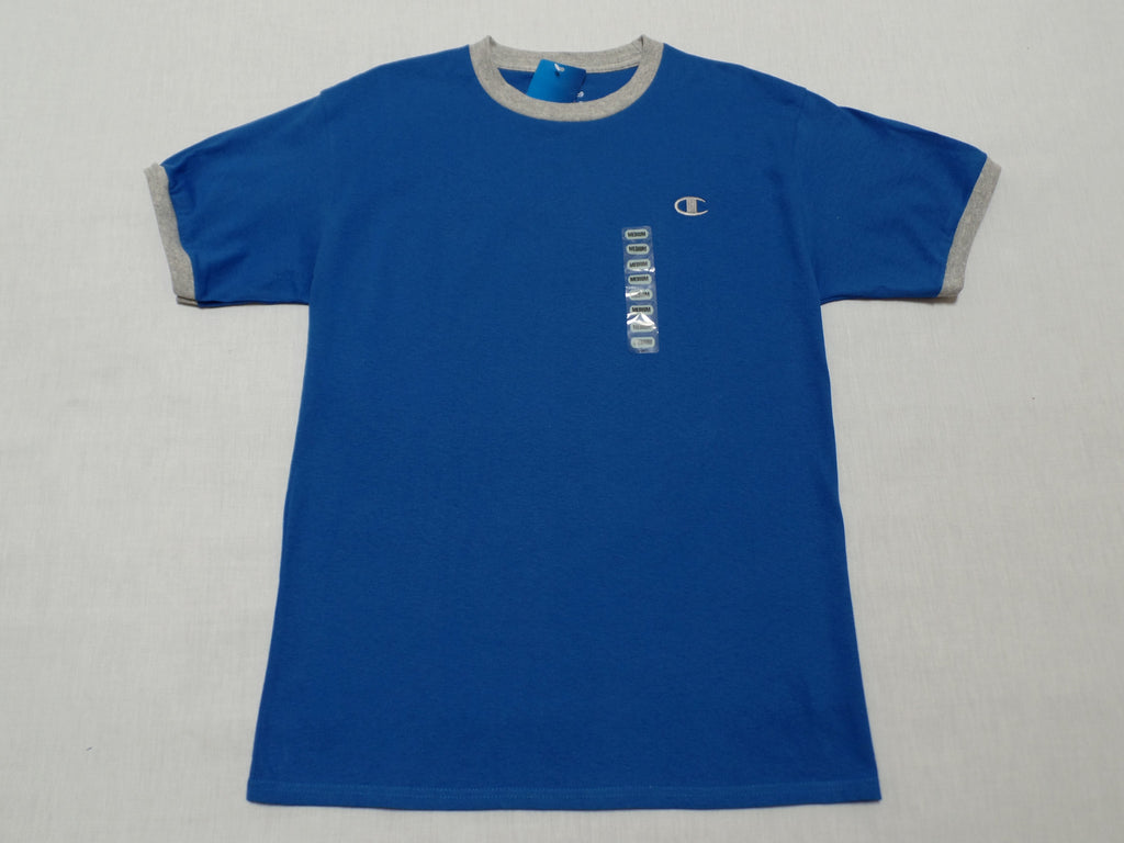 Champion Jersey Ringer T-Shirt - 100% Cotton: Sizes - M, L