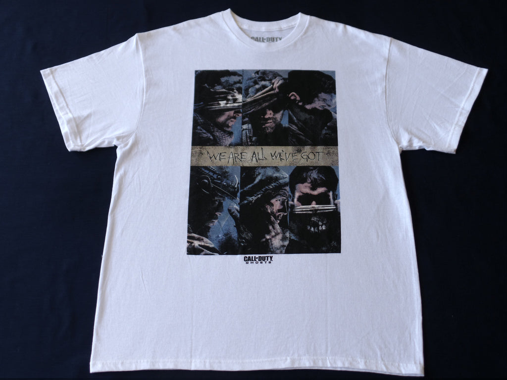 Call of Duty Ghosts S/S Shirt - 100% Cotton: Size XL 46/48