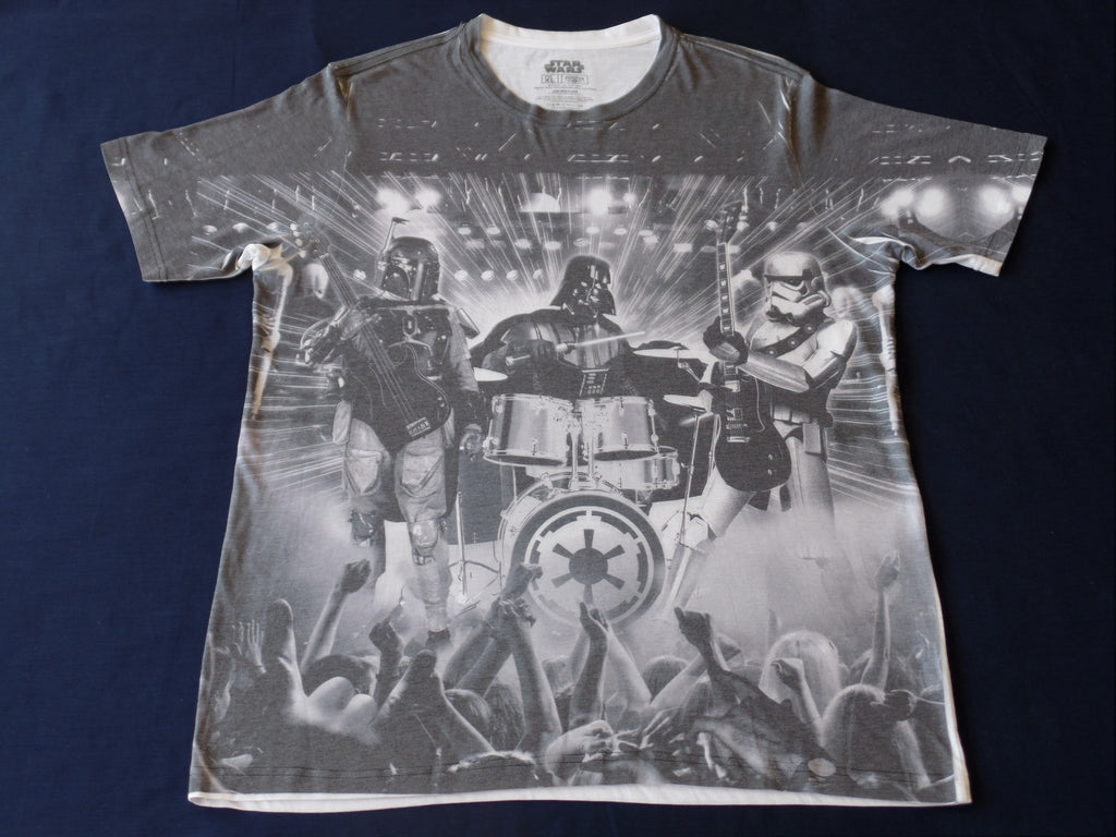 Star Wars S/S T-Shirt - 65% Polyester, 35% Cotton: Size XL