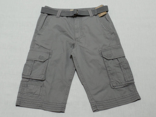 "Men Roebuck & Co Messenger Short with belt (15"" Inseam) - 100% Cotton: Size 30"