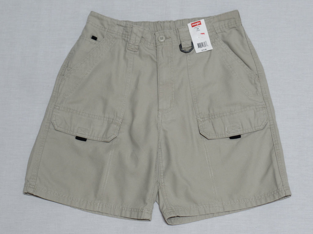 Men Wrangler Hiker Shorts (Multi Functional Pockets) - 100% Cotton: Sizes 32, 34, 42
