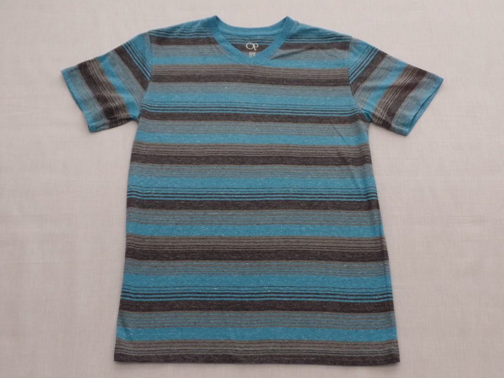 Men's OP S/S Stripe Shirt - Size S