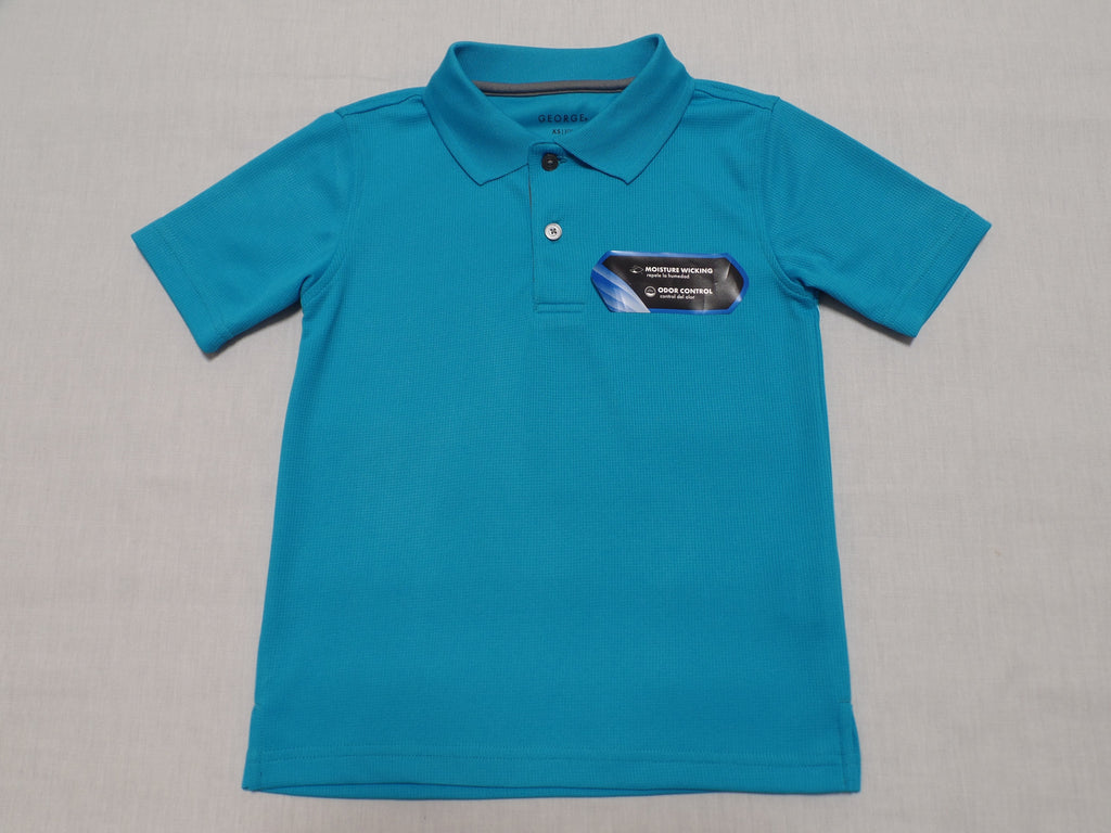 George 100% Polyester Polo Shirt: Size XS 4-5