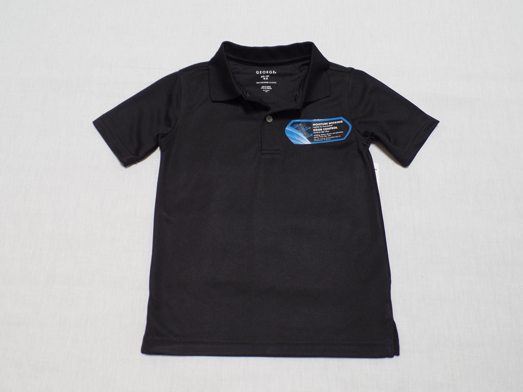 George100% Polyester Polo Shirt: Size XS, M