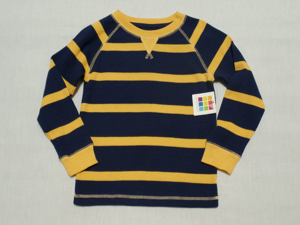 Boys L/S Thermal Stripped Tee: Size 5T