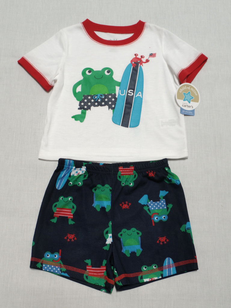 Child of Mine 2 piece set (Frog USA) 100% Polyester: Size 24M