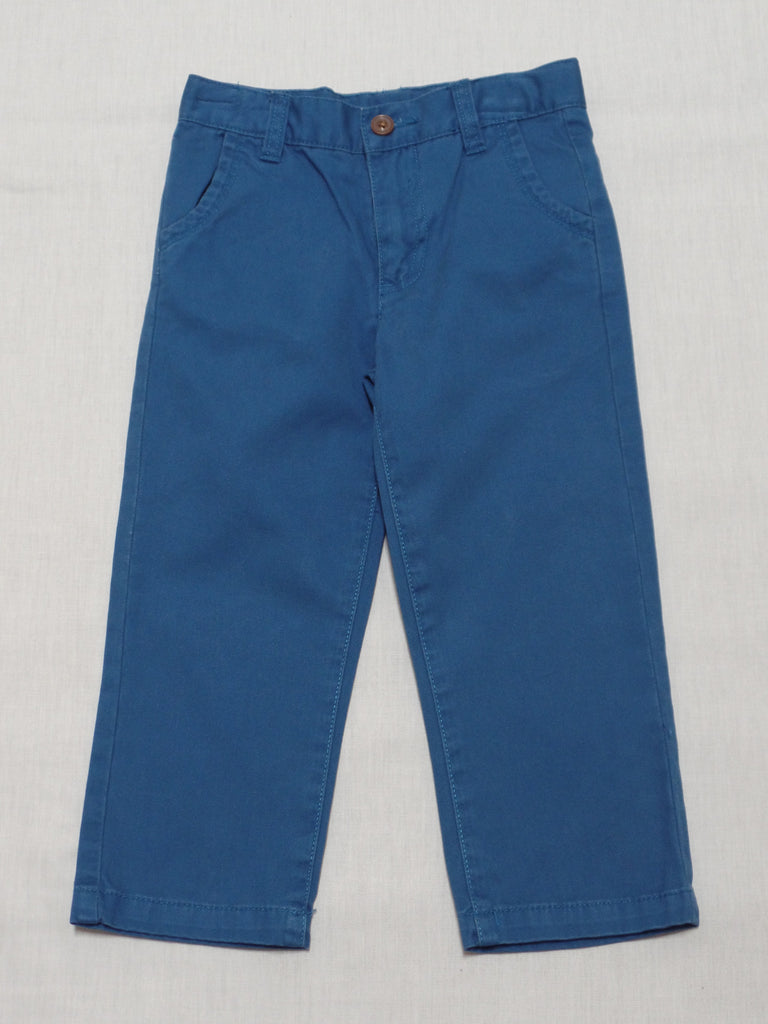 Boys Twill Pants (Long) - 100% Cotton: Size 3T