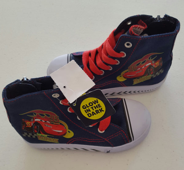 Boy's Lightning McQueen Toddler Tennis Shoes: Sizes 5.5, 7, 8.5, 10, 10.5, 11.5