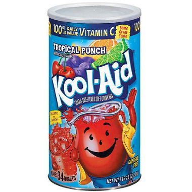 Kool Aid Tropical Punch Mix (makes 34 qts.)