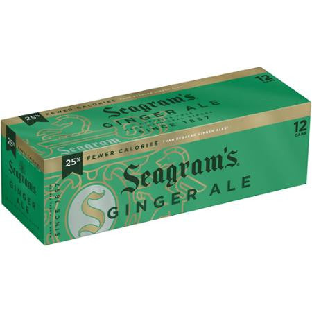 Ginger Ale 12 oz Can Soda (12 Pack) (Choose Your Brand)