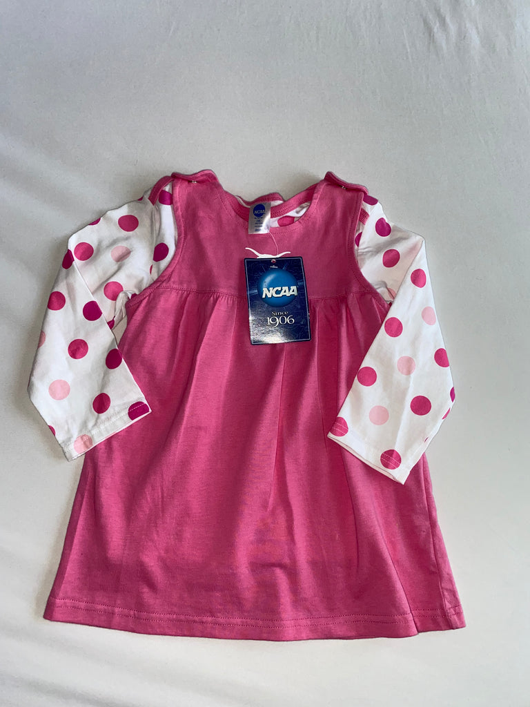 Girls Texas Long Sleeve Dress (Size 24M)
