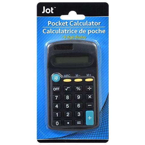 8-Digit Handheld Calculators (Assorted Color and Style)