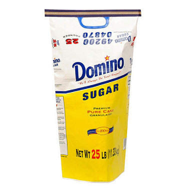 Domino Granulated Sugar (25 pounds)