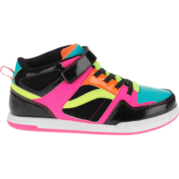 Girl's and (Toddlers) OP Athletic High Top Skate Sneaker - Choose Size (8, 9, 10,12, 1, 2, 4)
