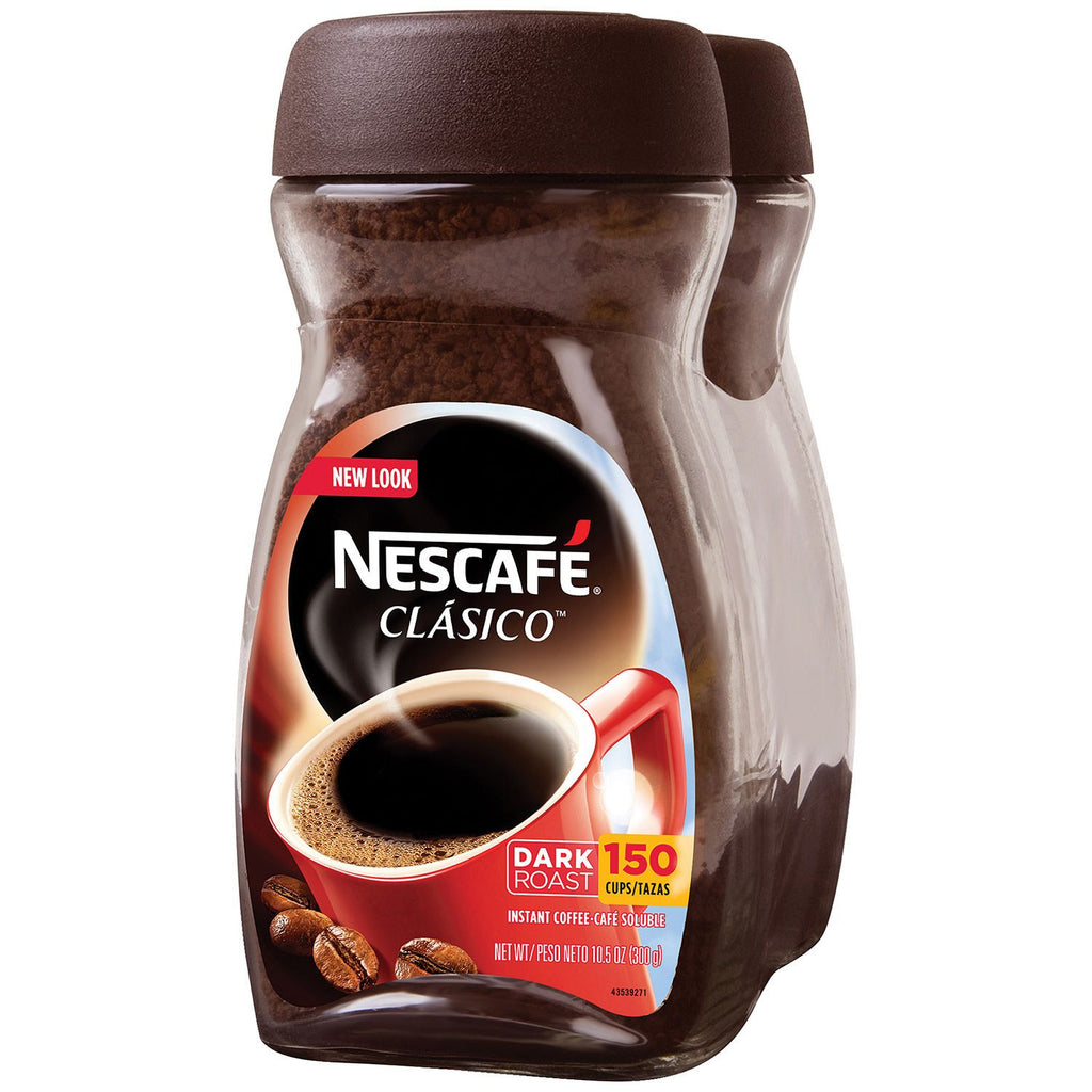 Nescafe Clasico Instant Coffee (10.5 oz., 2 Count or Single)