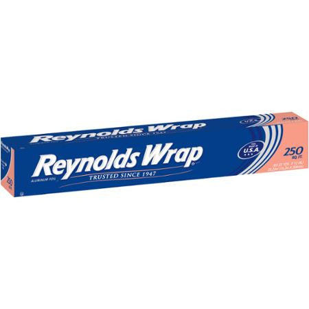 Reynolds Wrap Aluminum Foil, 250 sq ft