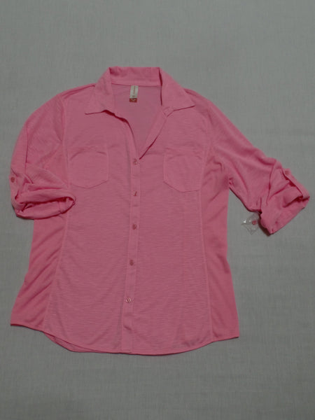Juniors NB Knit Shirt (3 Quarter Sleeve) 100% Polyester: Size XXL
