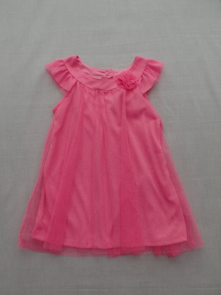 Glitter Tulle Dress - 100% Polyester: Size 24 M