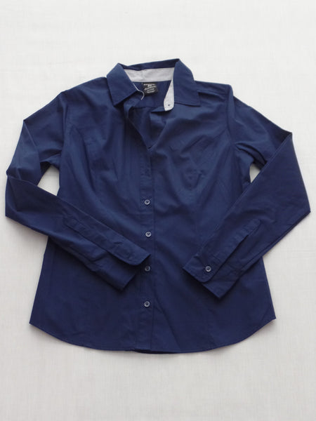 L/S Woven Core Shirt (Button Front) 55% Cotton, 45% Polyester: M, XL, XXL