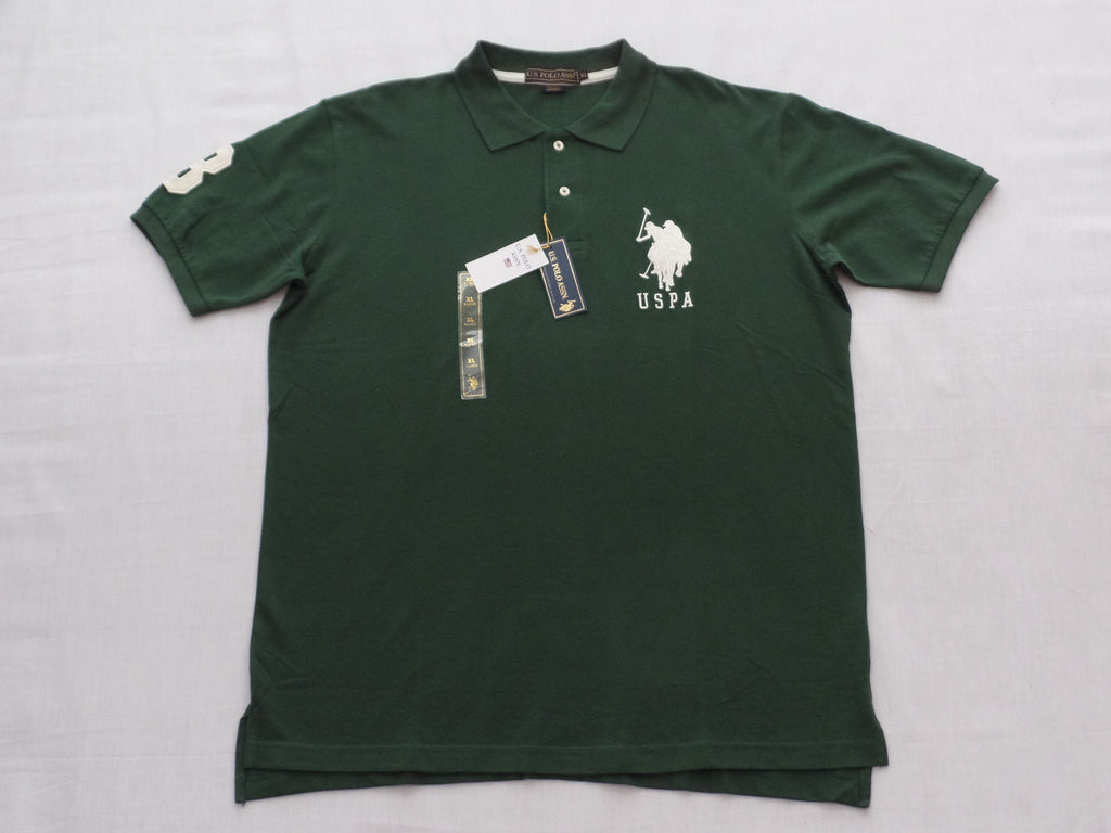 Men's U.S. POLO ASSN. Shirts - 100% Cotton (Sizes L, XL)