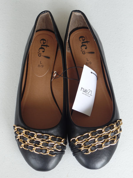 Rue 21 Women's Shoes with Chain - Sizes: M (7-8)  L (8-9)
