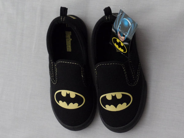 Boy's and Infant Boys Batman Casual Shoes -  Choose Size (9, 11, 12)