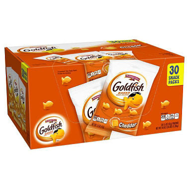 Pepperidge Farm Goldfish Cheddar Crackers - 36 count. (1.25 oz)