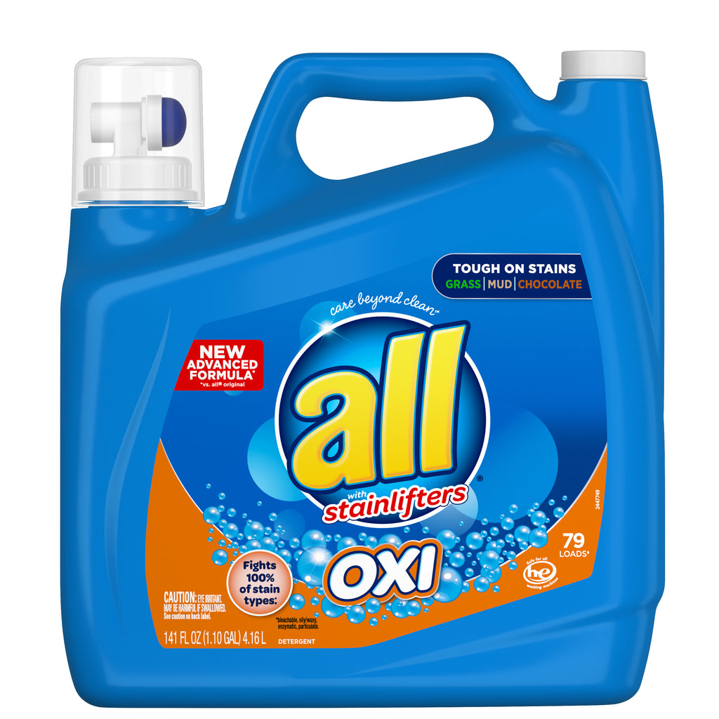 All Oxi Laundry Detergent with Stainlifters - 79 loads, 141 fl oz