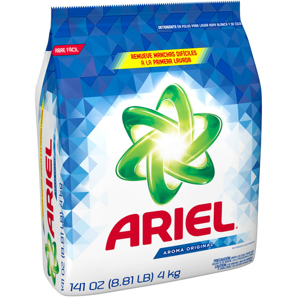 Ariel Original Scent Laundry Detergent Powder, 141 oz