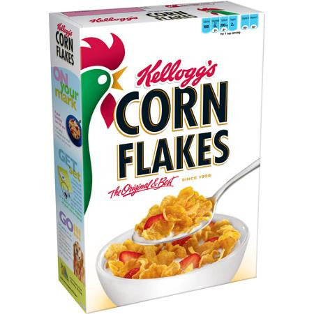 Kellogg's, Corn Flakes, Breakfast Cereal, Original, 24 Oz