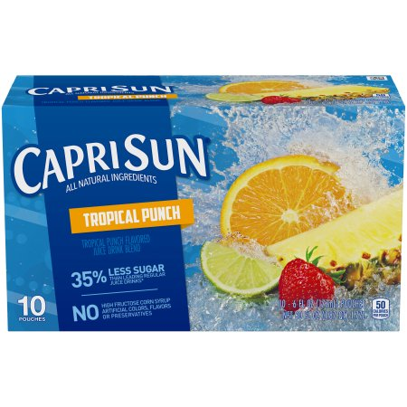 Capri Sun Juice Pouches, 6 Fl Oz, 10 Count (Choose Flavor)