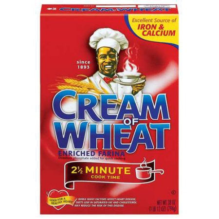 Cream Of Wheat Hot Cereal, 28.0 OZ Choose 2.5 or 1 Minute