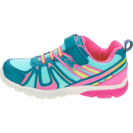 Danskin Now Girls' Bungee Lace Running Shoe Choose your Size 7, 8, 10, 11