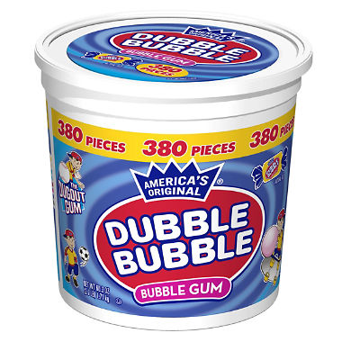 Dubble Bubble Bubble Gum (380 Count)