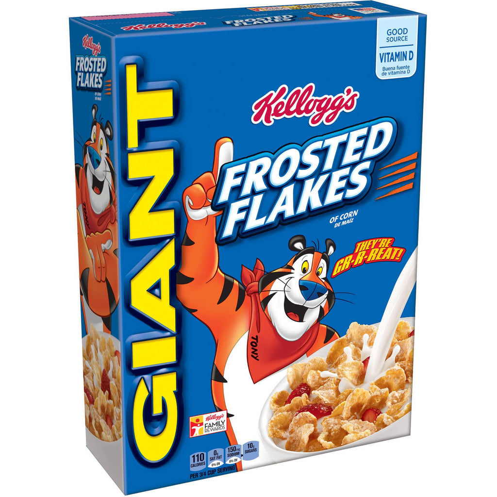 Kellogg's Frosted Flakes Cereal - Choose Size Family or Giant