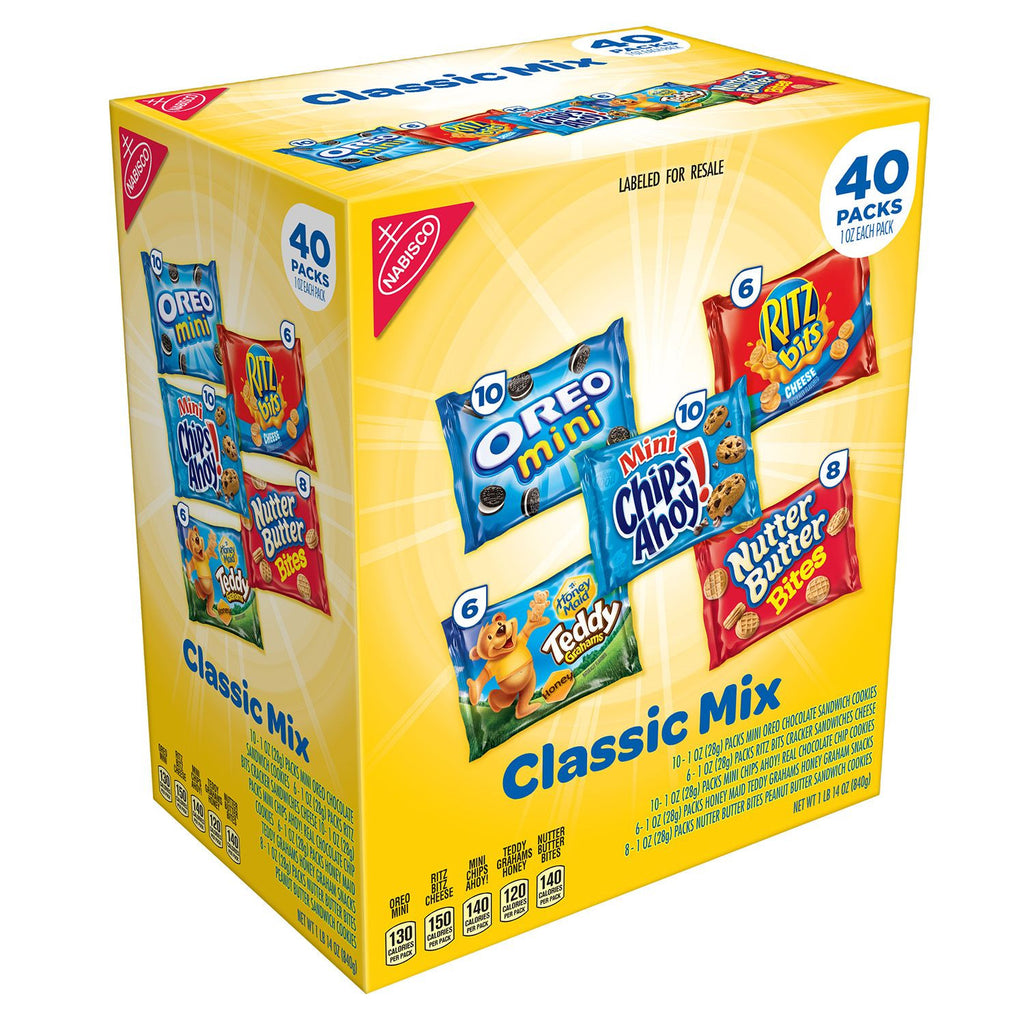 Nabisco Classic Mix Variety Cookies Pack (40 Count.)