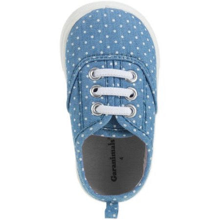 Girl's Infant Canvas Sneaker - Choose Size (7, 9, 10, 12)