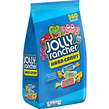 Jolly Rancher Hard Candy (5 lbs., 360 Count)