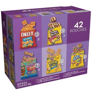 Keebler Cookies And Crackers Variety Pack (1oz / 45 Packs)