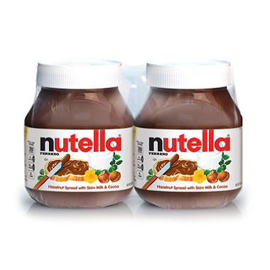Nutella Chocolate Hazelnut Spread Jar - Choose your Size: (26.5 oz. jars, 2 Count or Single)