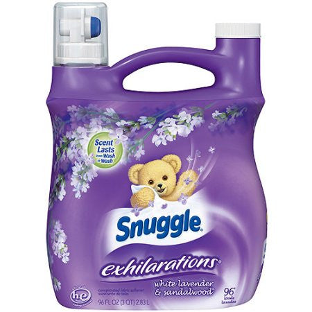 Snuggle Exhilarations Liquid Fabric Softener (Choose Scent) 96 fl. oz.