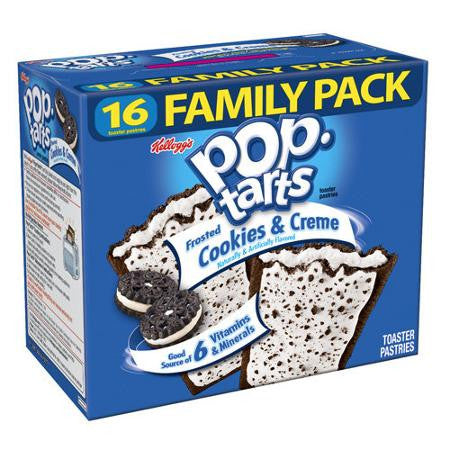 Kellogg's Frosted Cookies _ Creme Pop-Tarts, 16 ct