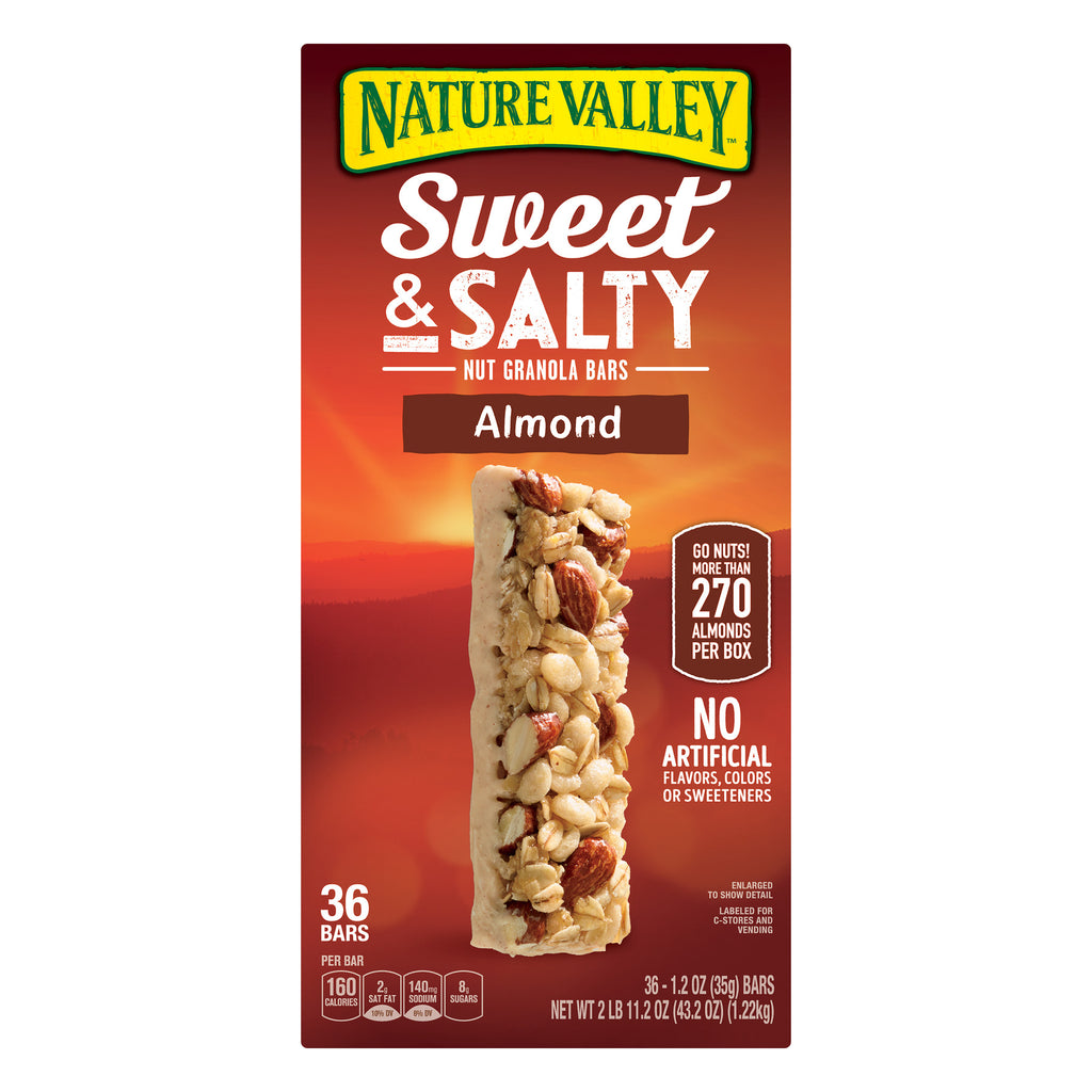 Nature Valley Sweet & Salty Almond Granola Bars (36 Count)