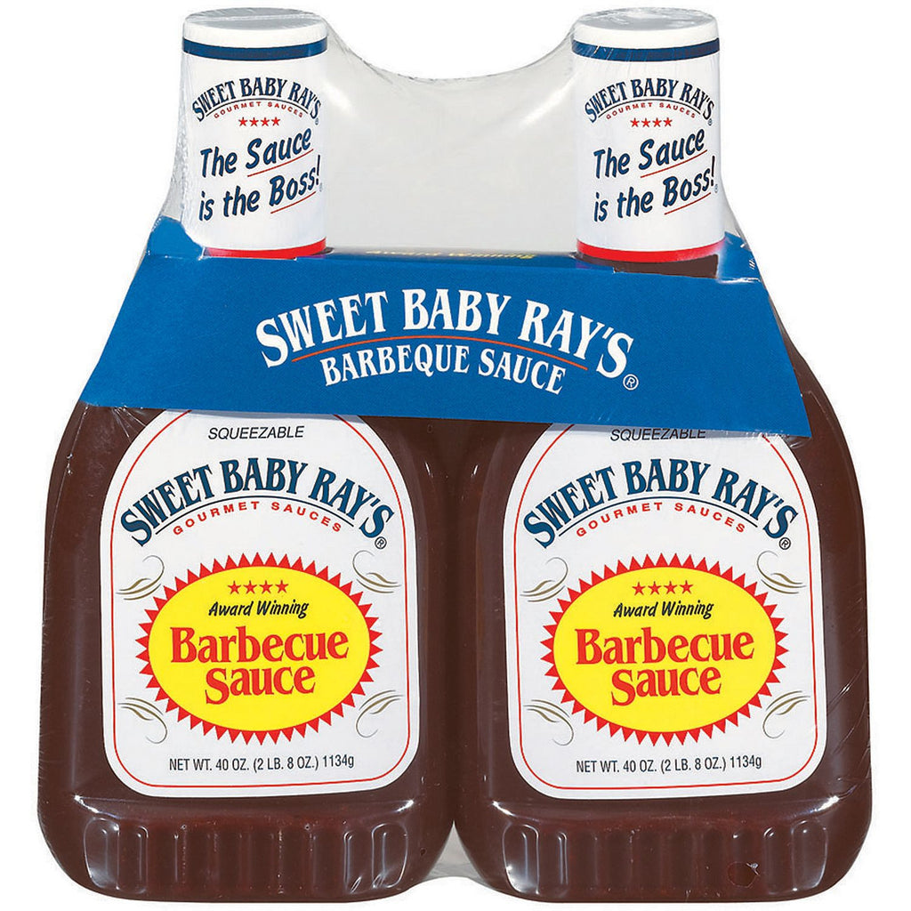 Sweet Baby Ray's Barbecue Sauce (40 oz. bottle) Choose Single or 2 Count