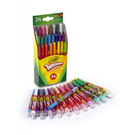 Crayola Twistables Crayons, 24 Colors/Pack