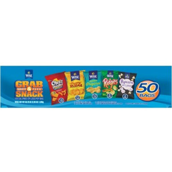 Chips - Wise Variety Pack (50 Count)