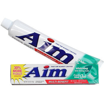 Aim Ultra Mint Gel Toothpaste, 5.5 oz.